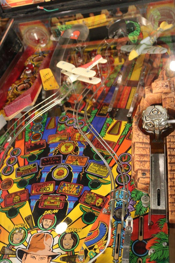 Indiana Jones Pinball Machine - 3