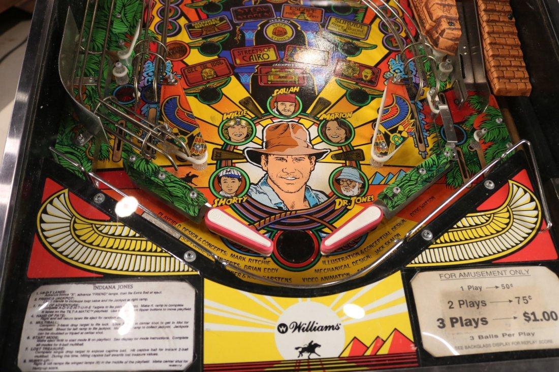 Indiana Jones Pinball Machine - 4
