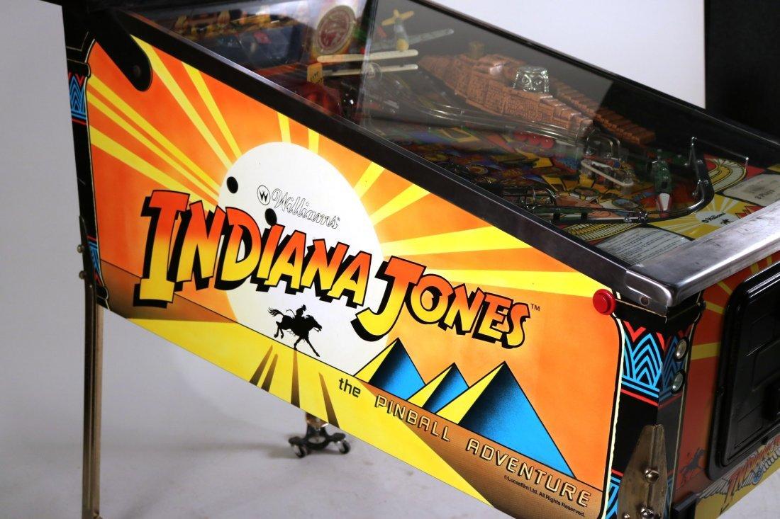 Indiana Jones Pinball Machine - 7