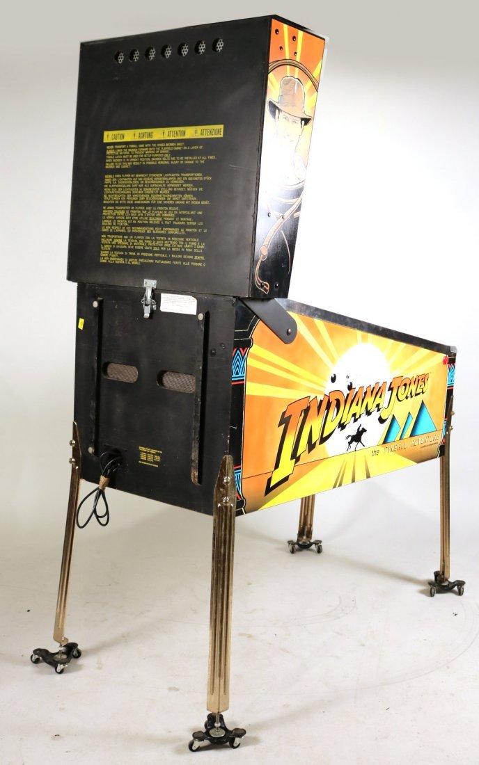 Indiana Jones Pinball Machine - 9