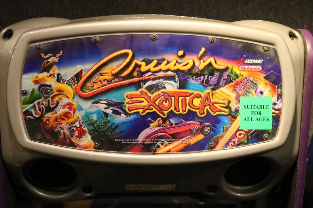 Nintendo Cruis'n Exotica Racing Game - 5