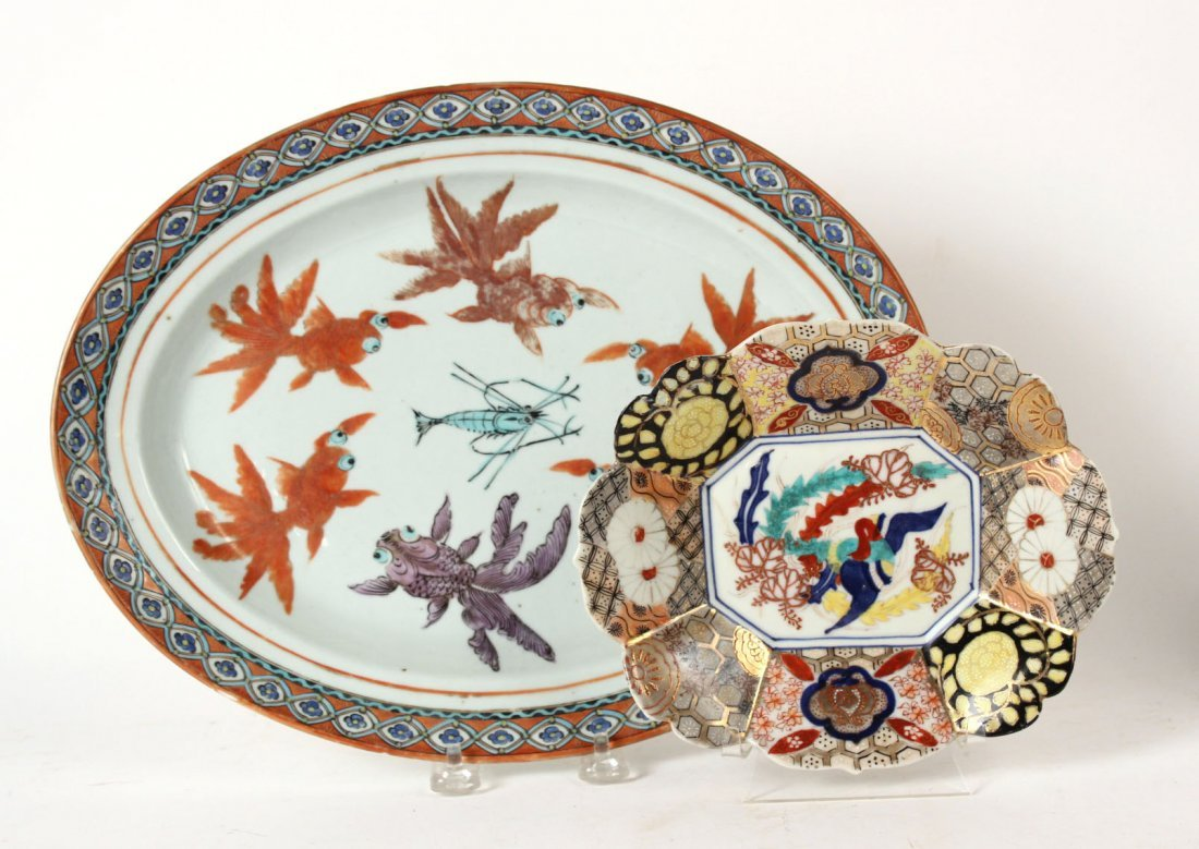 Chinese Porcelain Plates, Bowls and Platter - 2