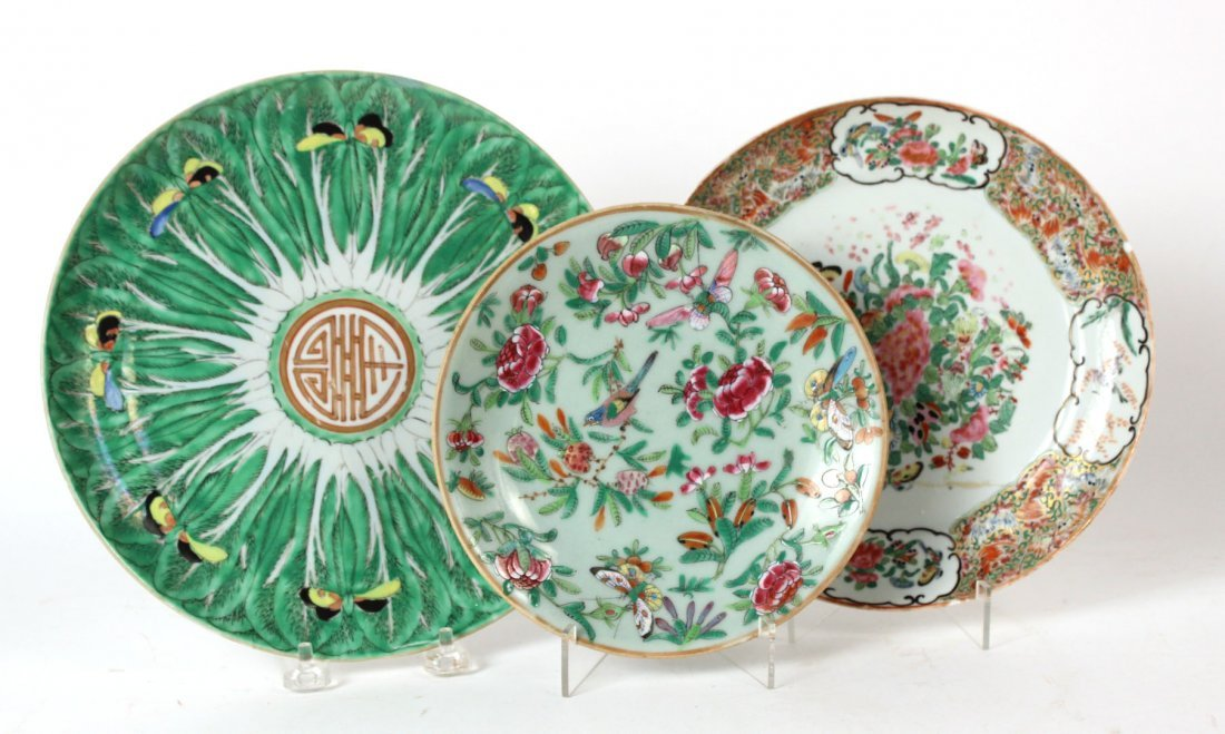 Chinese Porcelain Plates, Bowls and Platter - 3