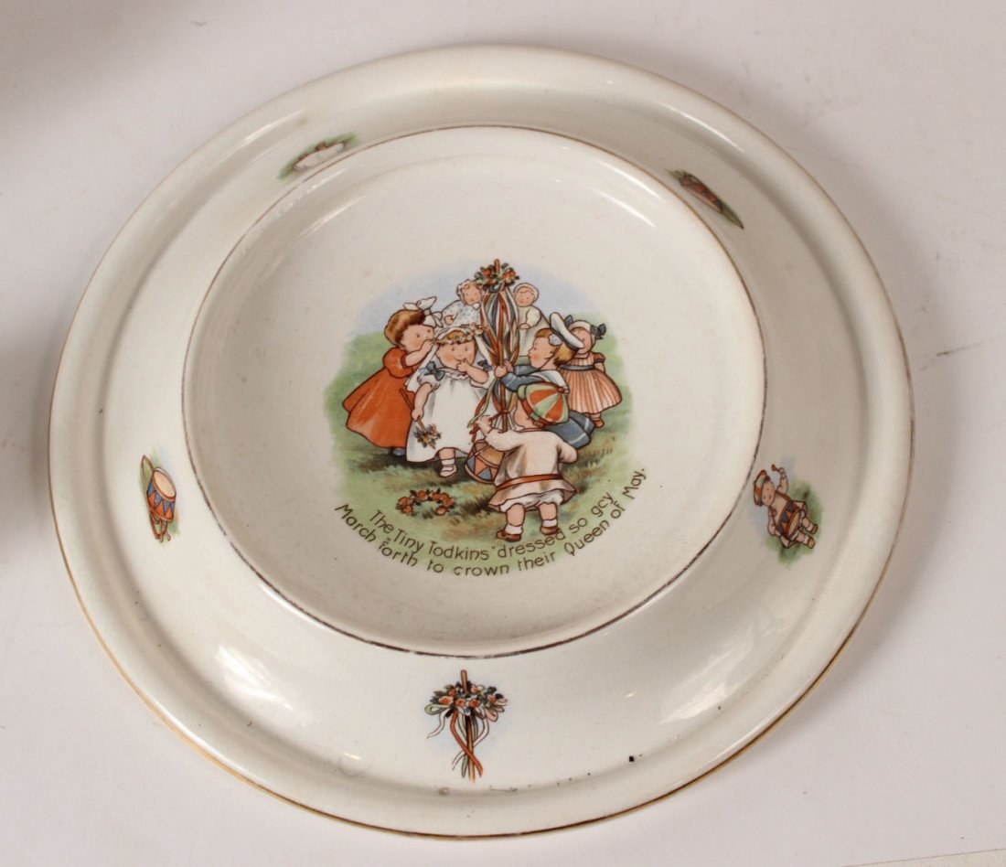 Coalport Gilt and Turquoise Beaded Cup & Saucer - 4