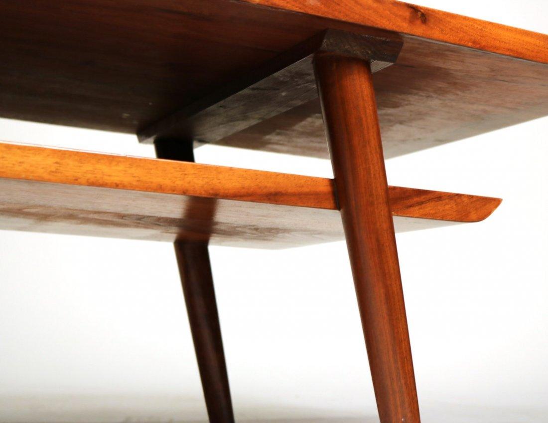 Mid-Century Modern Walnut Low Table - 4