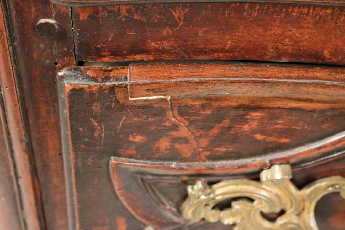 Provincial Louis XV Walnut Chest of Drawers - 6