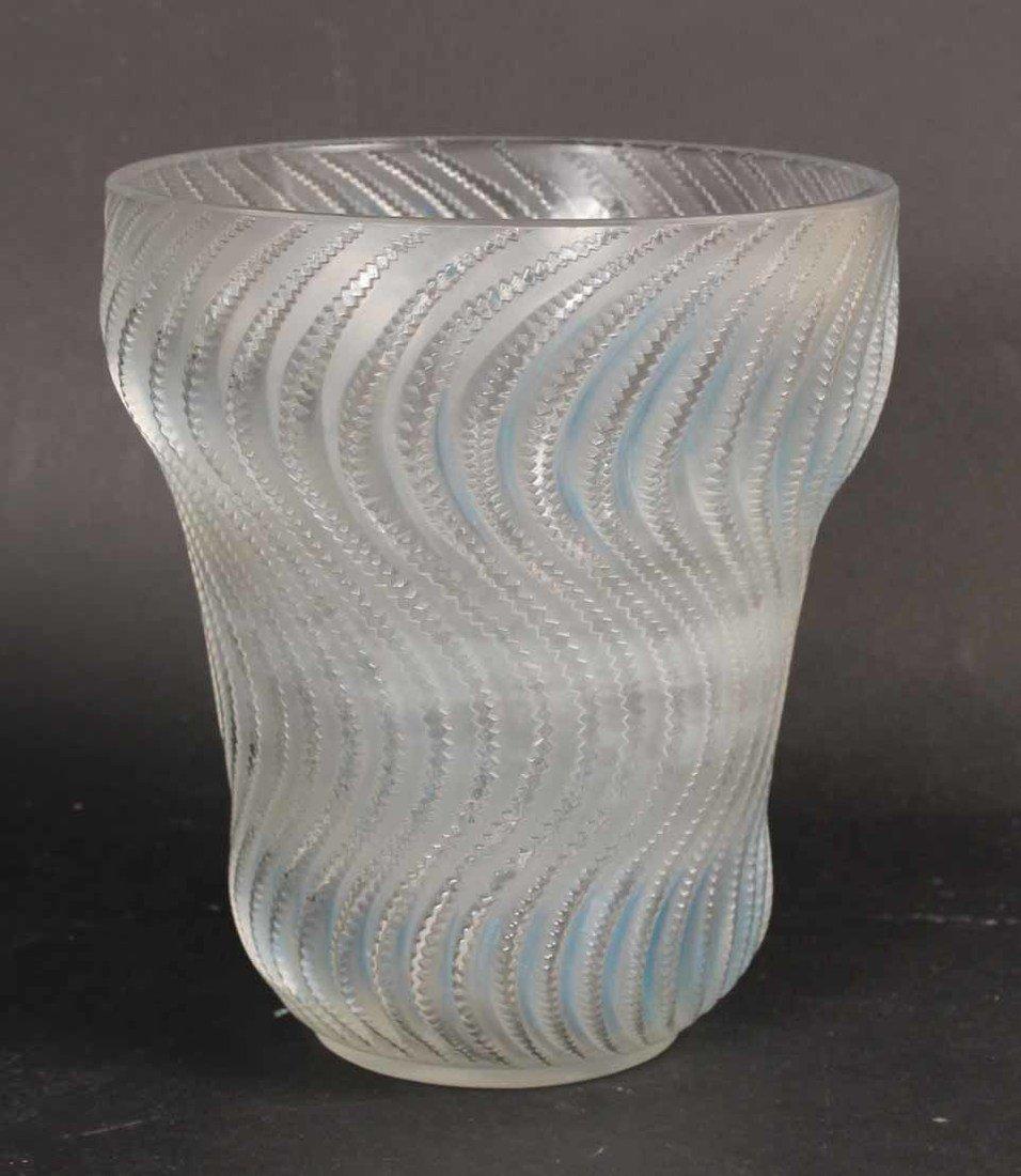 Rene Lalique Actinia Glass Vase