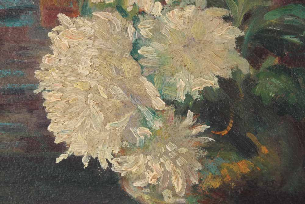Oil on Board Floral Still Life, H.C. Nay - 3