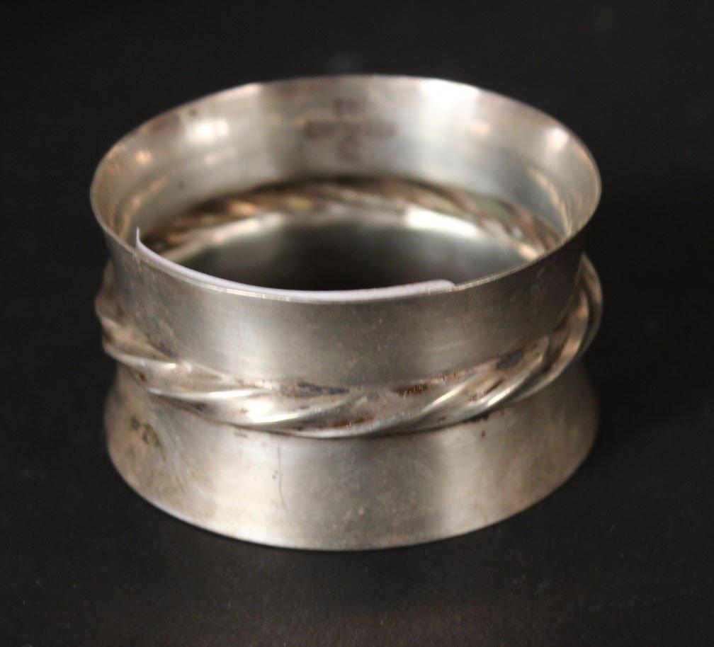 Alvin Sterling Silver Circular Tray - 2