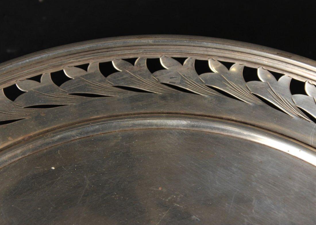 Alvin Sterling Silver Circular Tray - 5
