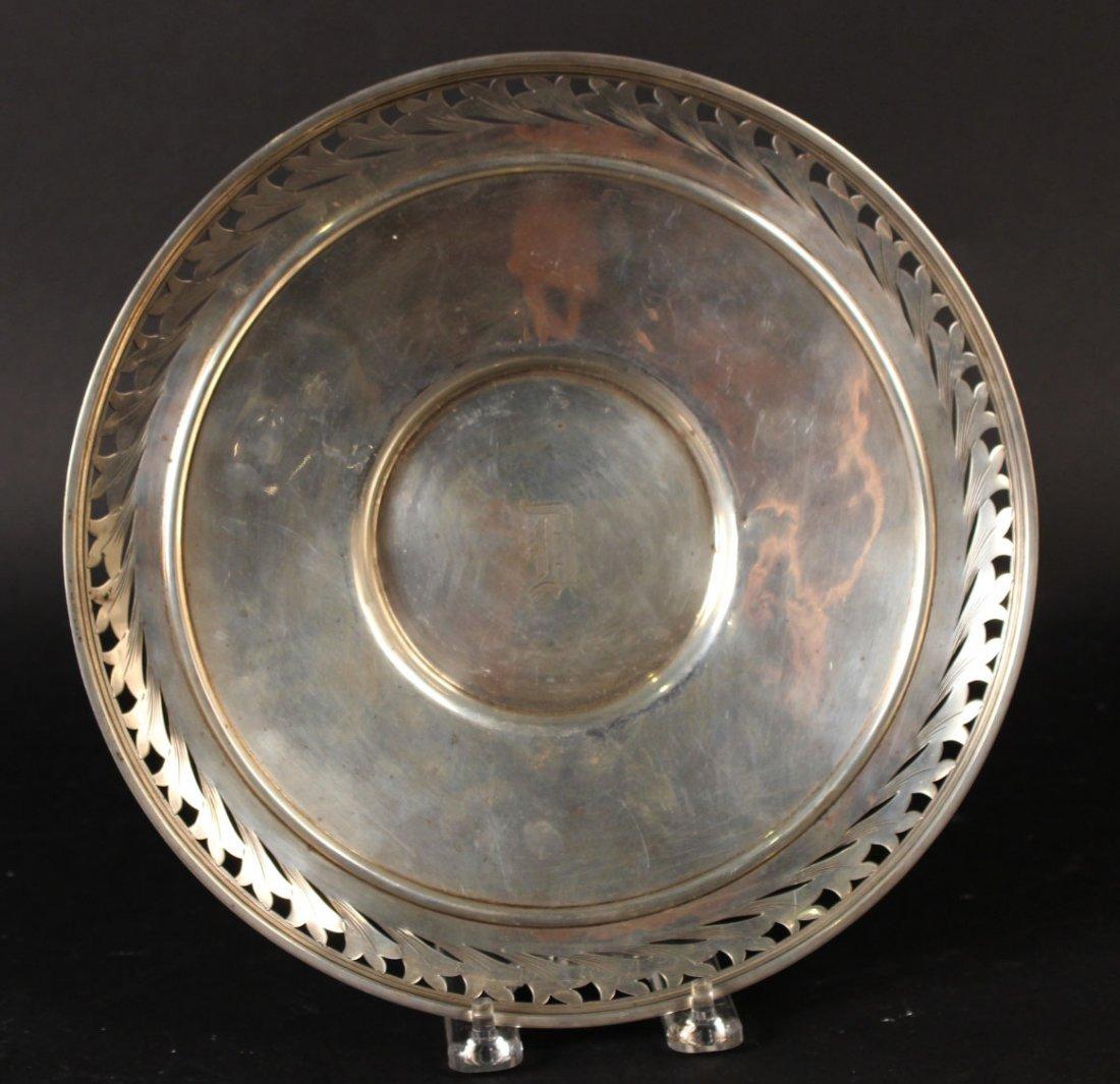 Alvin Sterling Silver Circular Tray - 6