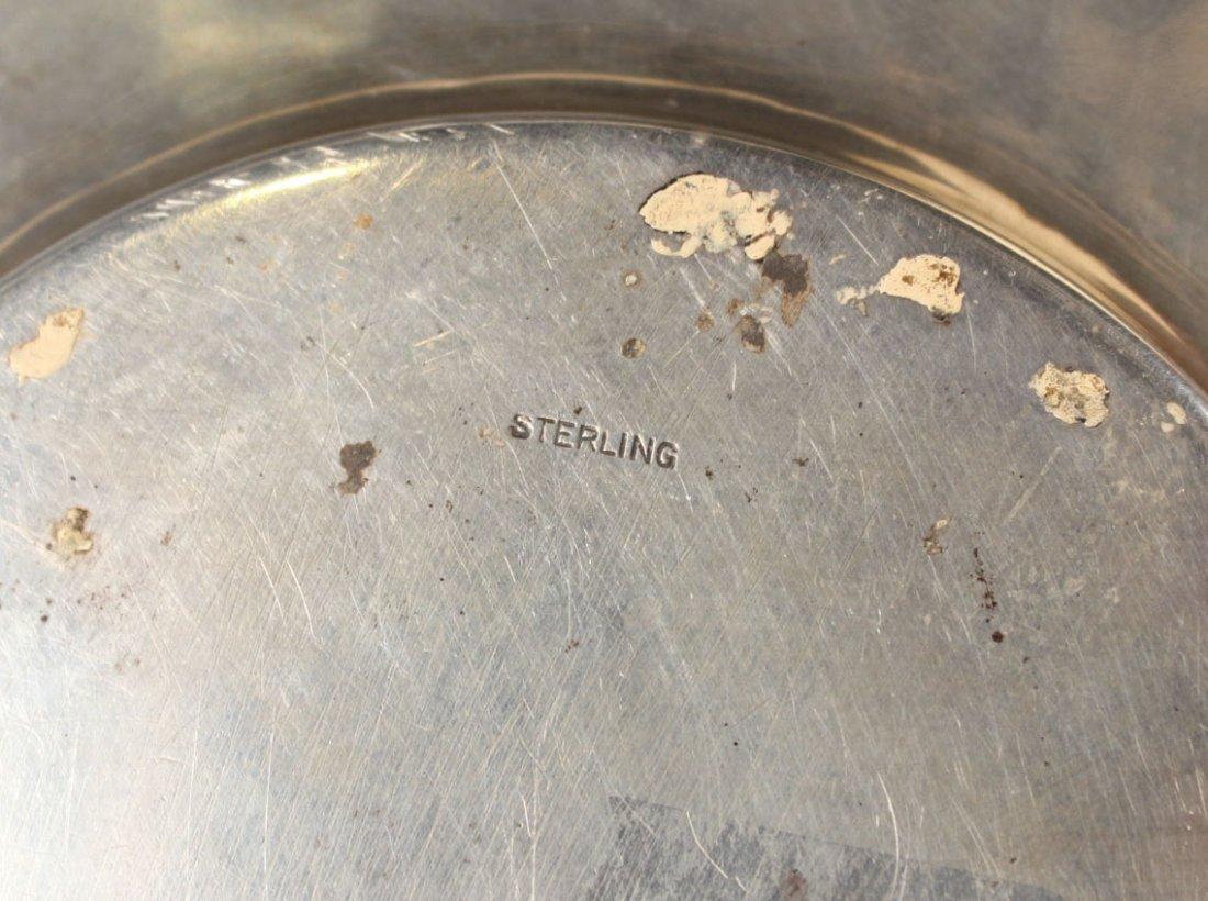 Alvin Sterling Silver Circular Tray - 7