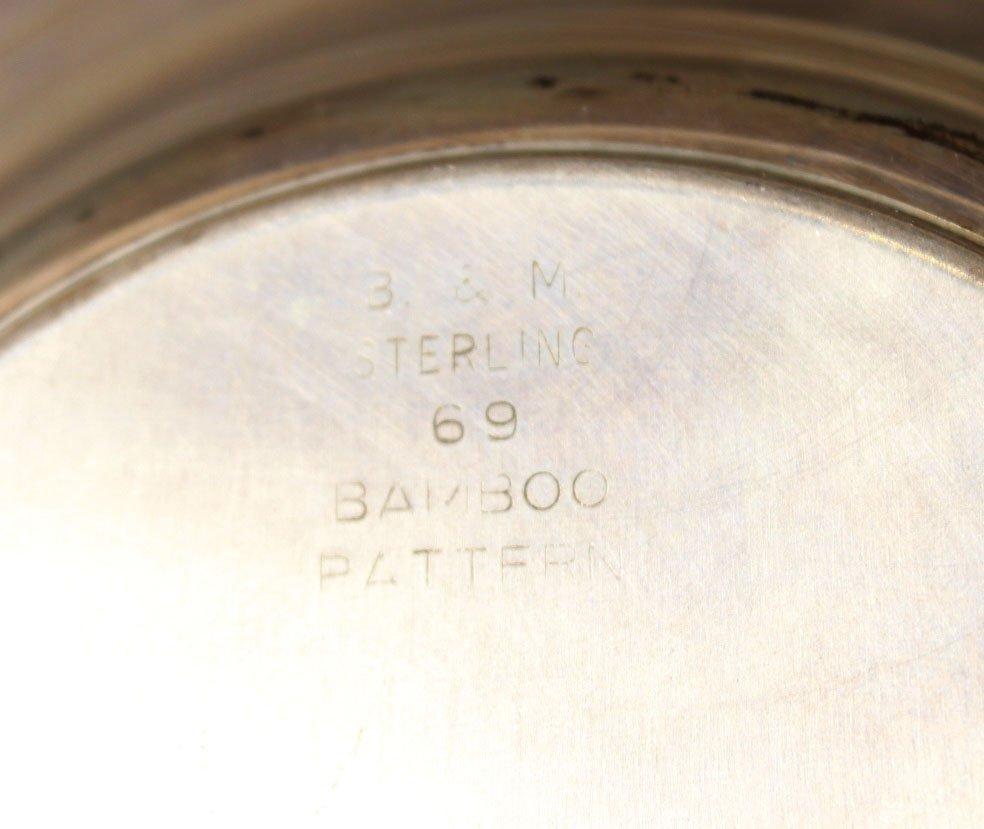 Alvin Sterling Silver Circular Tray - 9