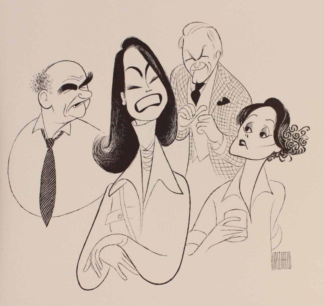 Viacom Al Hirshfield Prints Portfolio, 1986 - 2