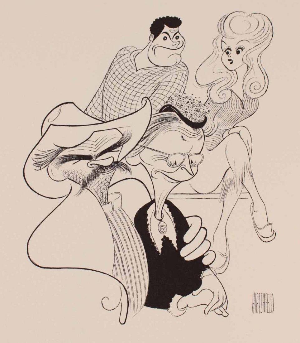 Viacom Al Hirshfield Prints Portfolio, 1986 - 8