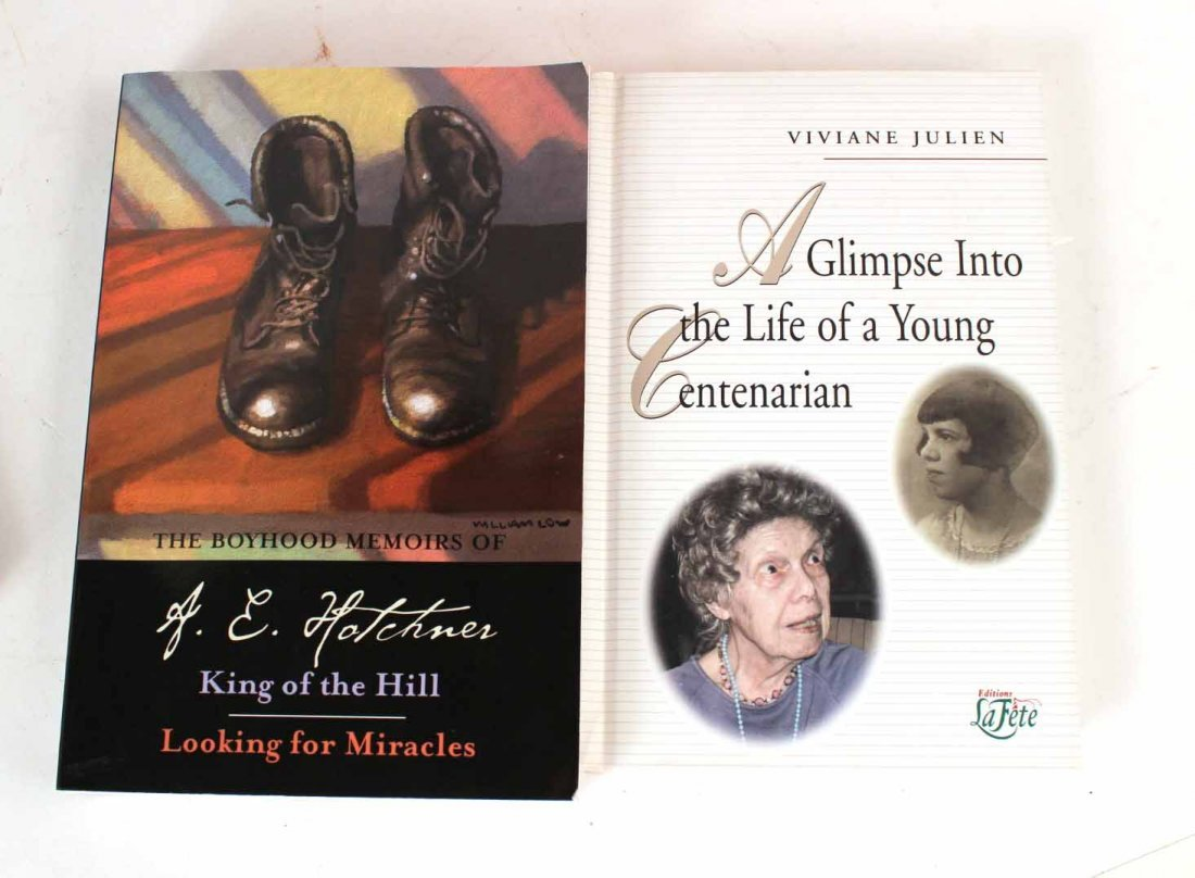Eleven Autographed Memoirs and Biographies - 2