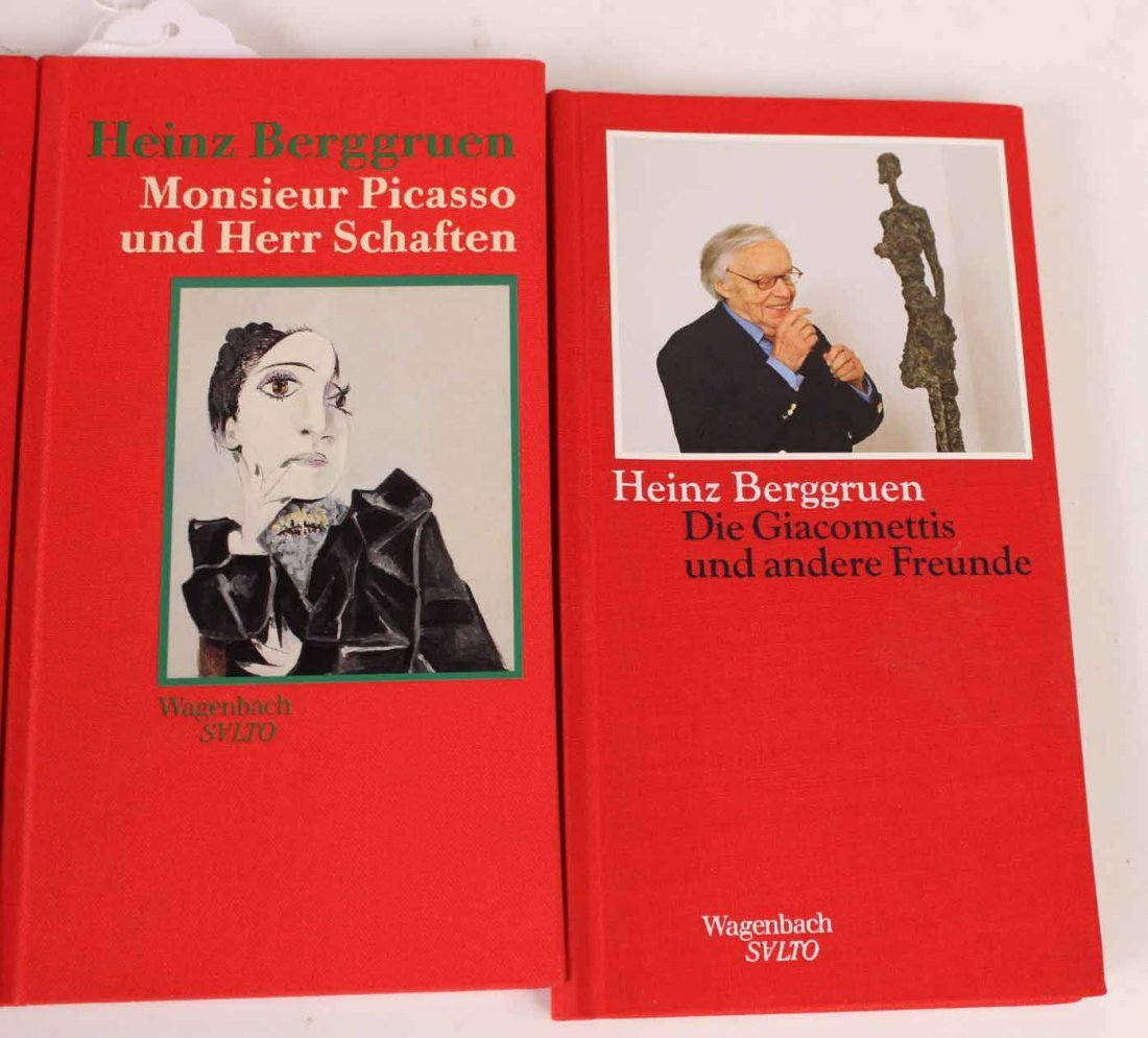 Ten Autographed French and German Books - 2