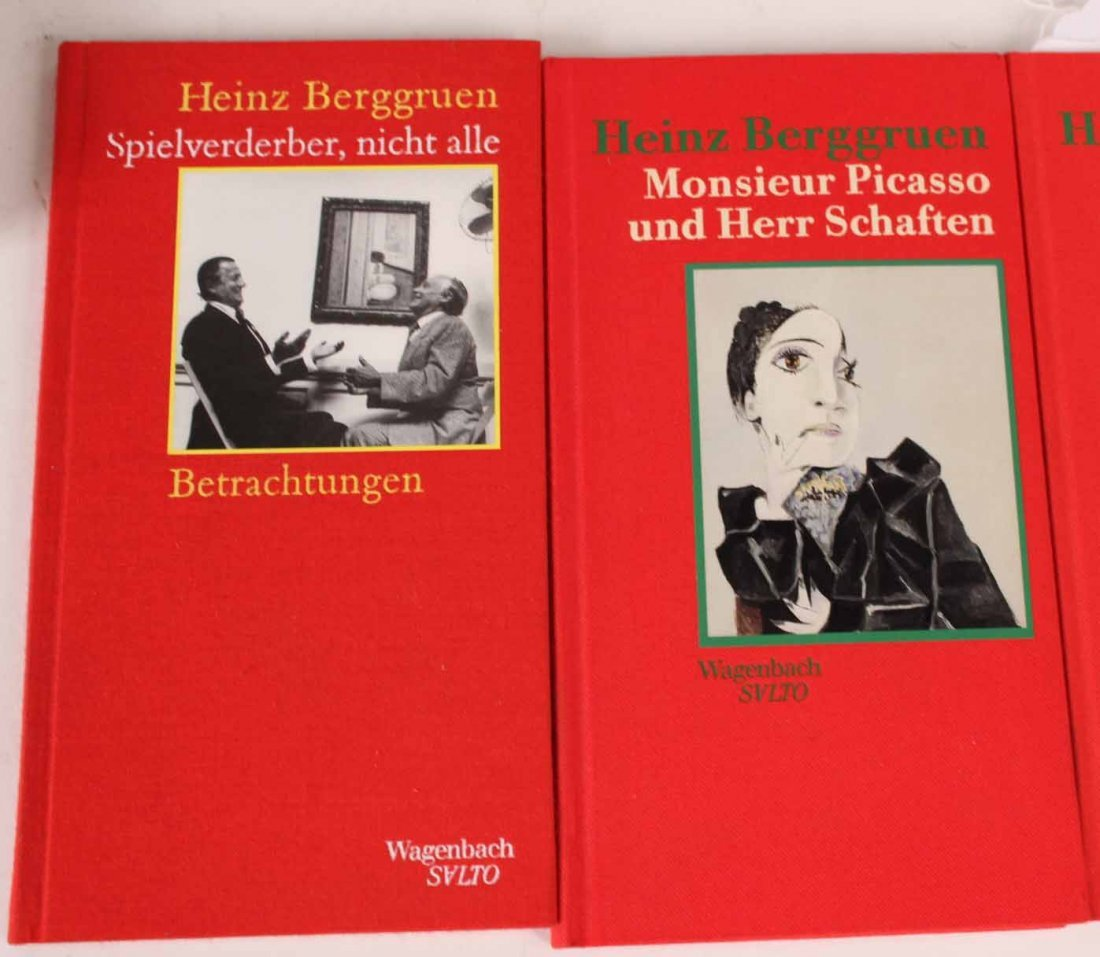 Ten Autographed French and German Books - 3