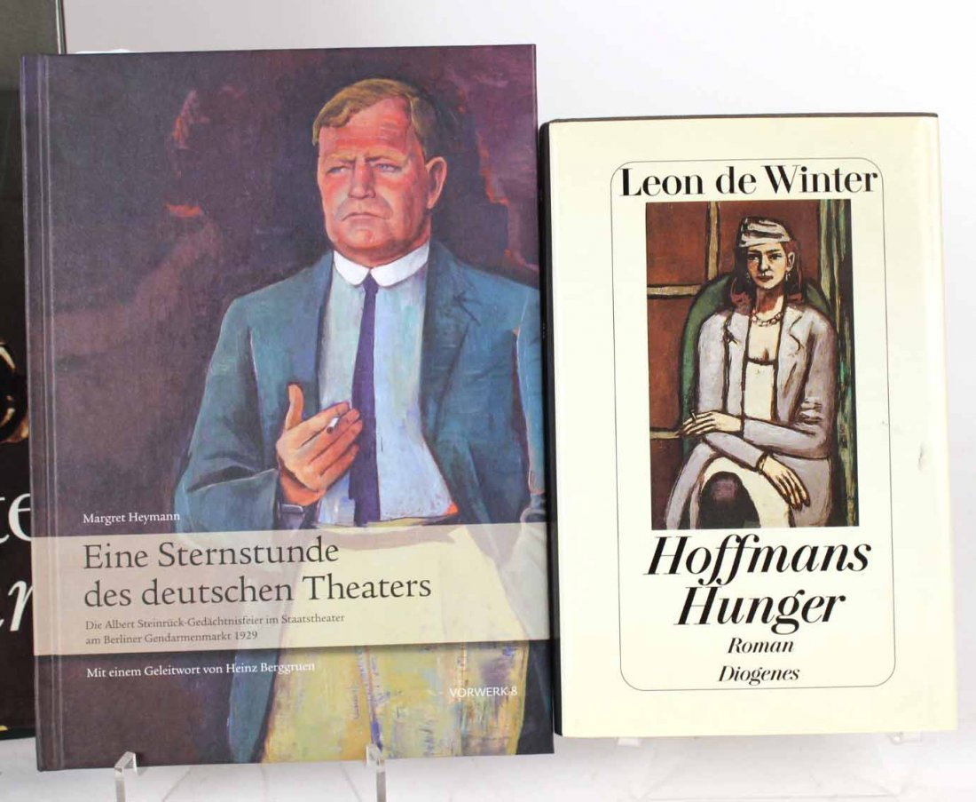 Ten Autographed French and German Books - 6