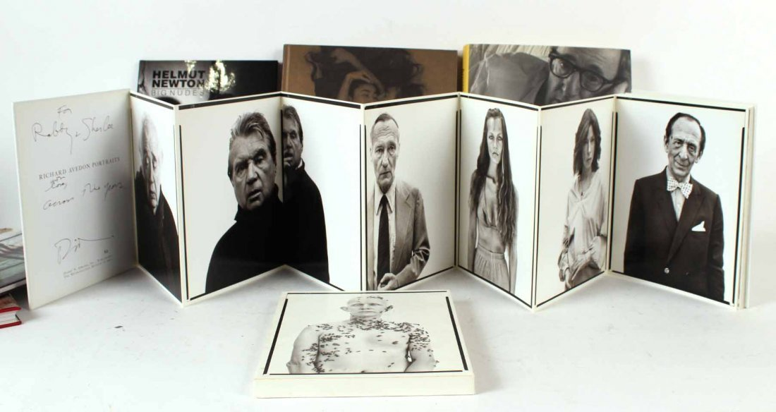 Eight Autographed Art Photography Books - 2