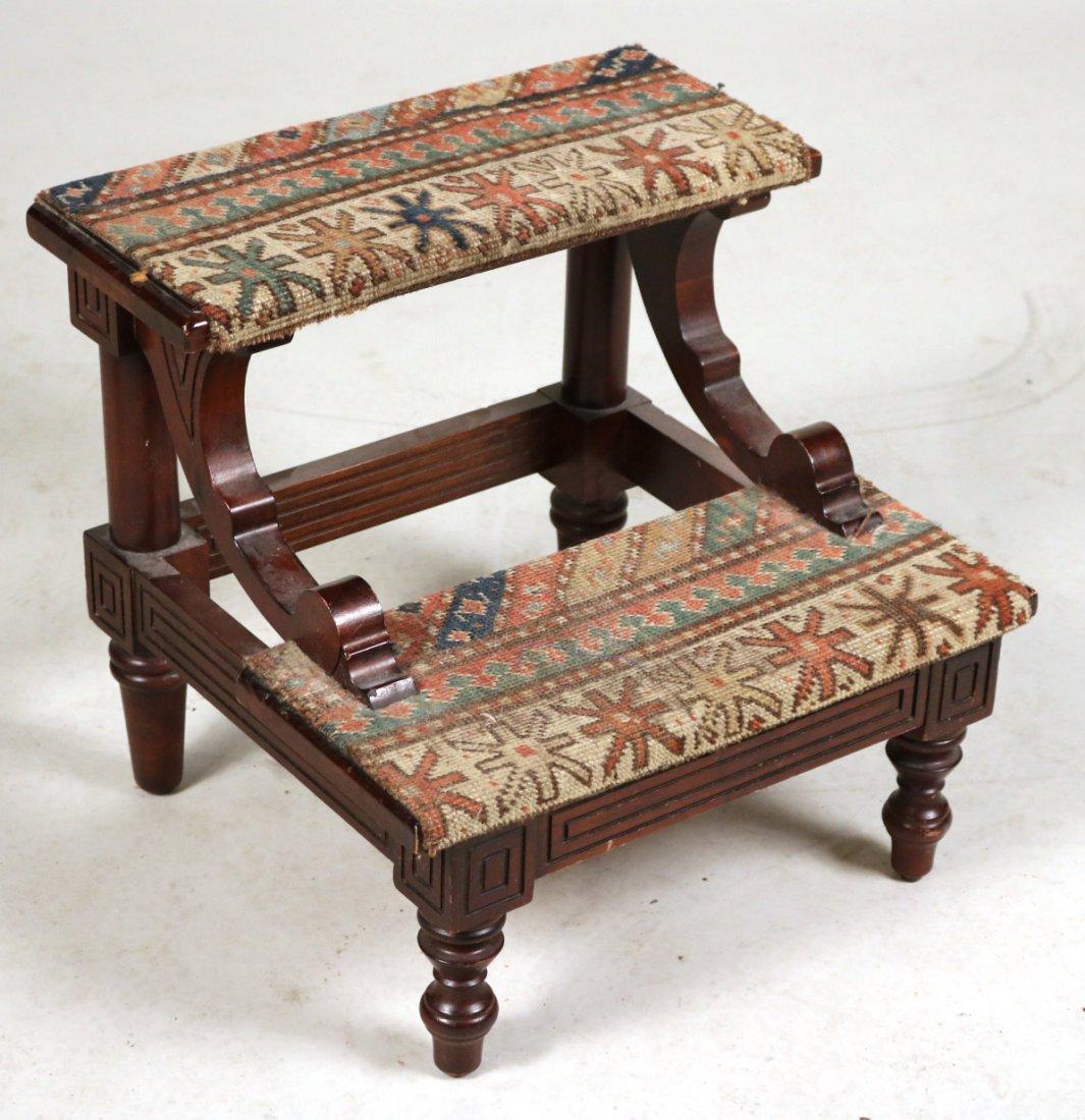 Modern Gothic Oak Metamorphic Library Chair - 5