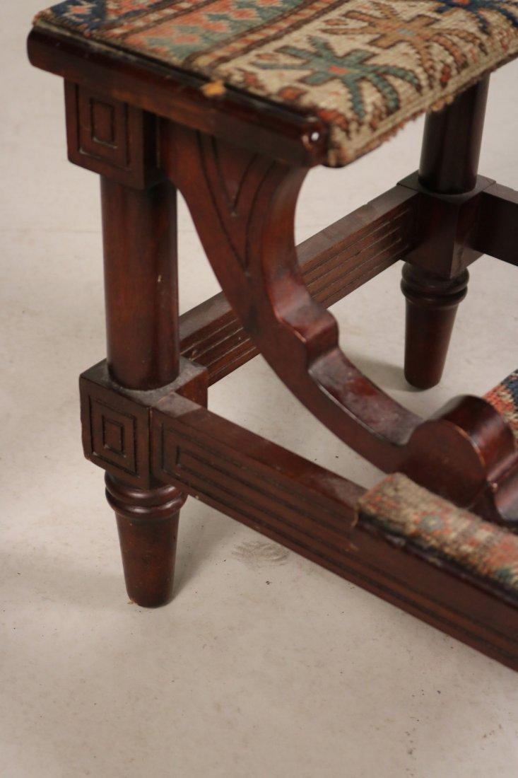 Modern Gothic Oak Metamorphic Library Chair - 6
