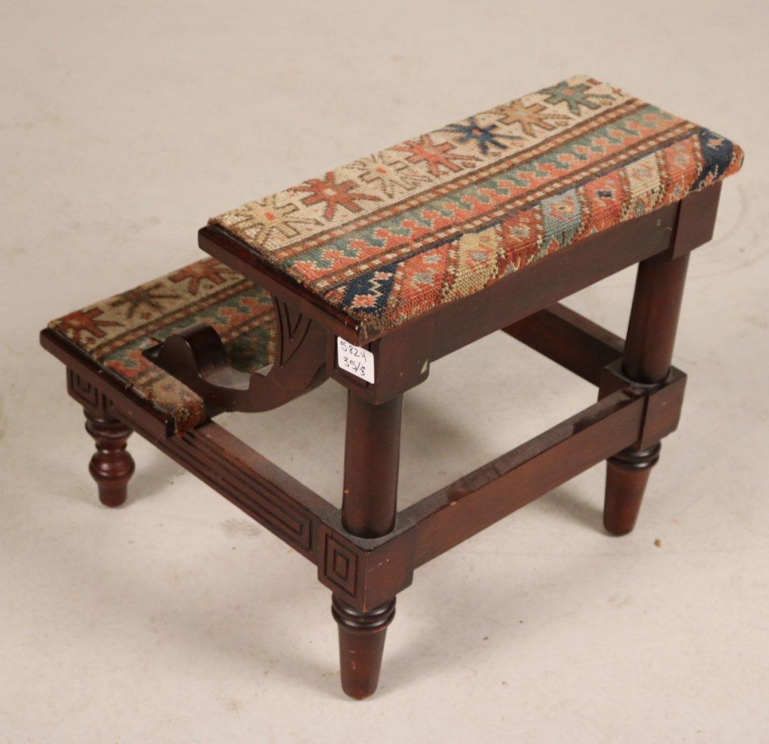 Modern Gothic Oak Metamorphic Library Chair - 7
