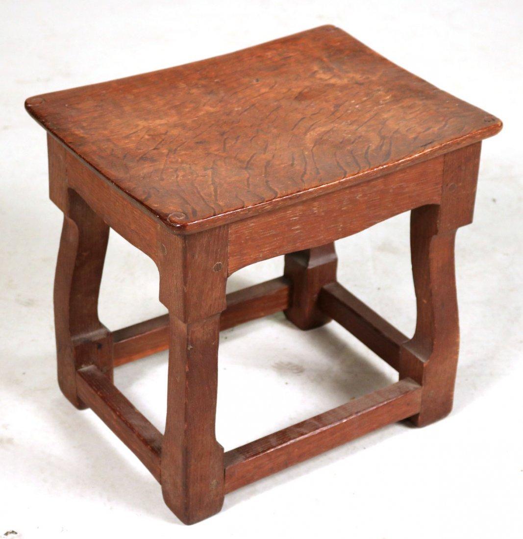 Oak Salesman Sample Cabinet - 2