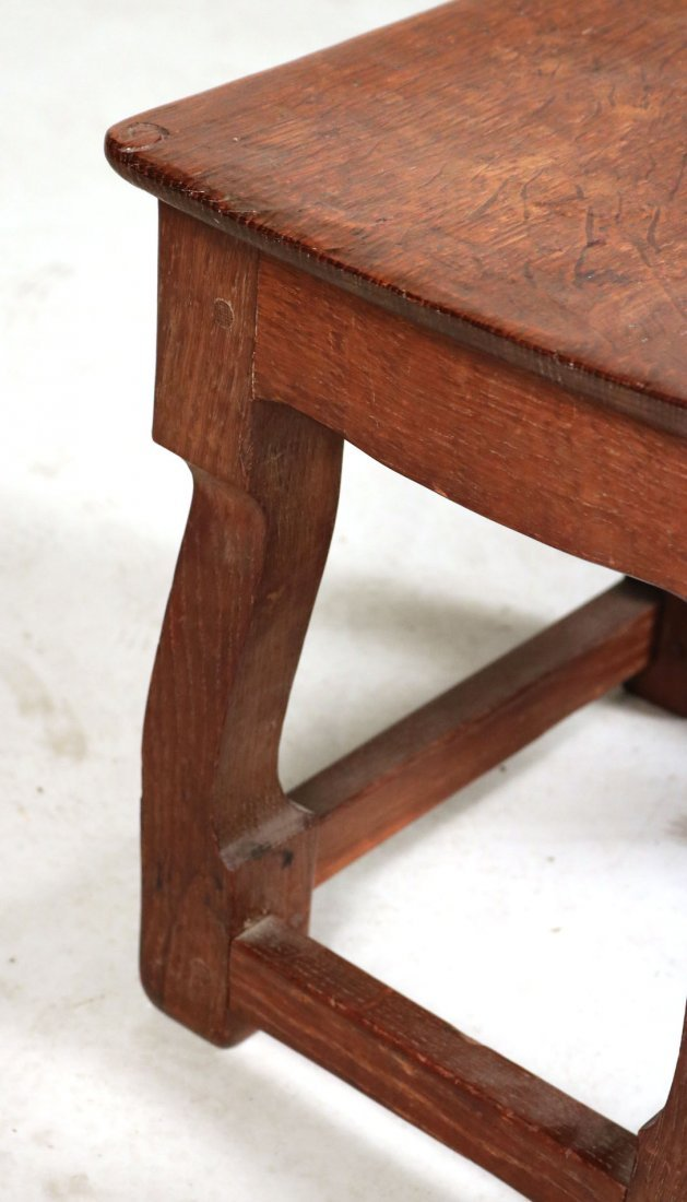 Oak Salesman Sample Cabinet - 3