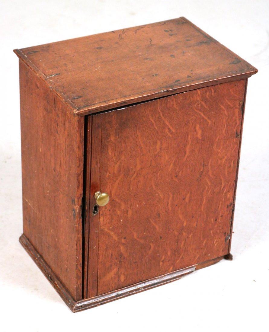 Oak Salesman Sample Cabinet - 4