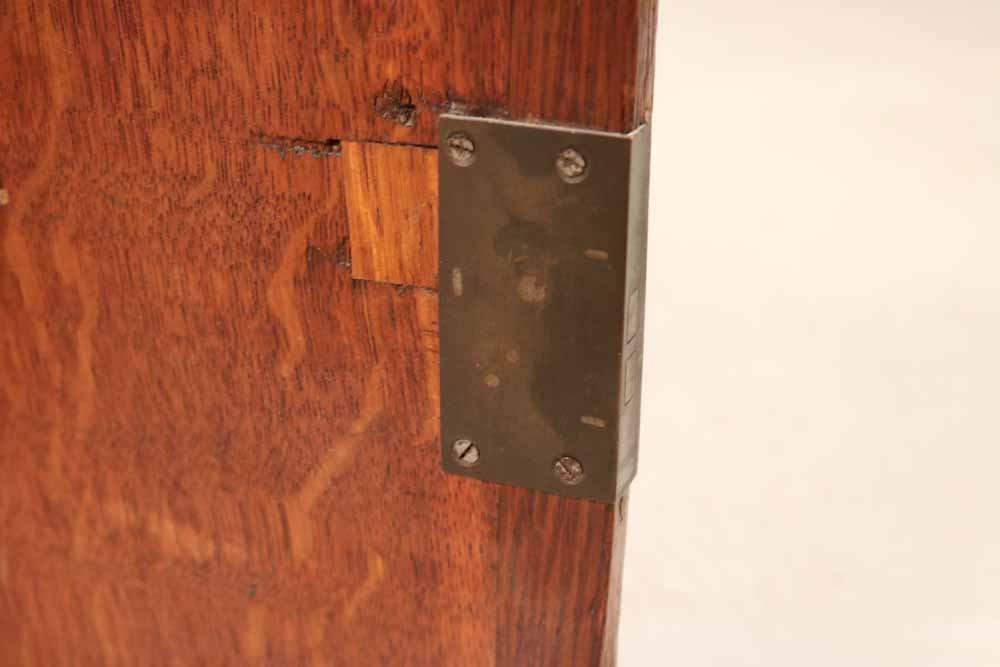 Oak Salesman Sample Cabinet - 6