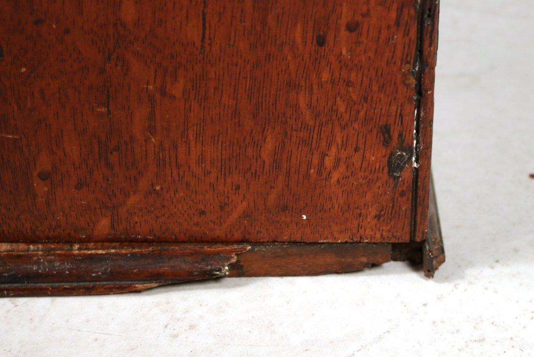 Oak Salesman Sample Cabinet - 9