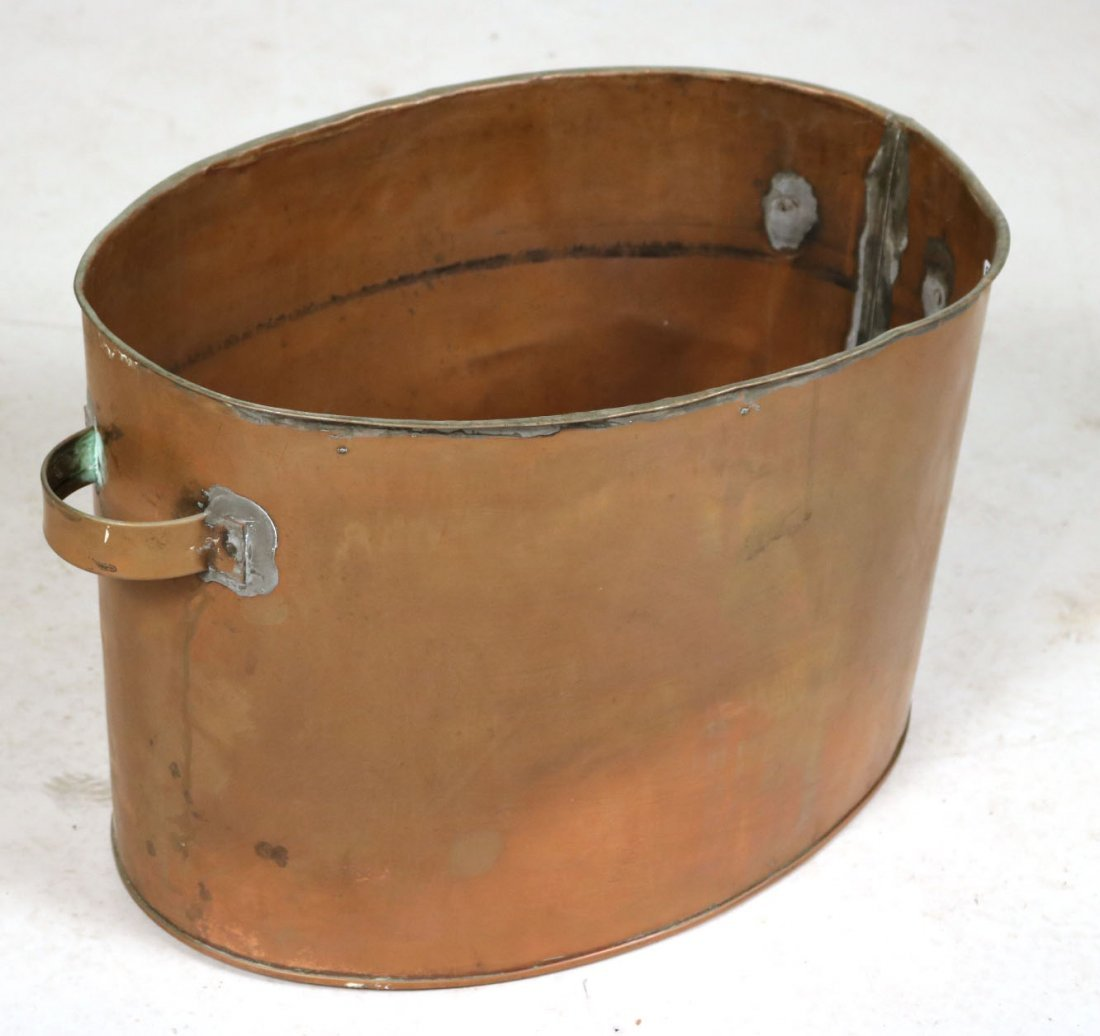 Four Brass and Copper Items - 5