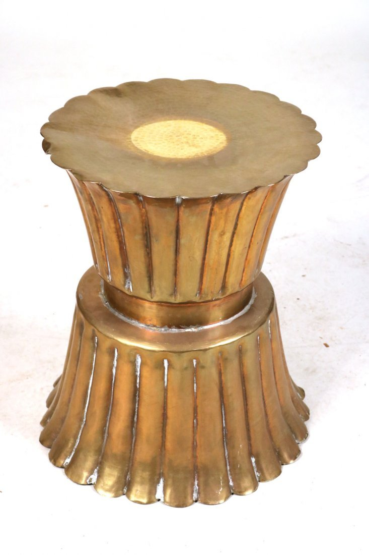 Four Brass and Copper Items - 8