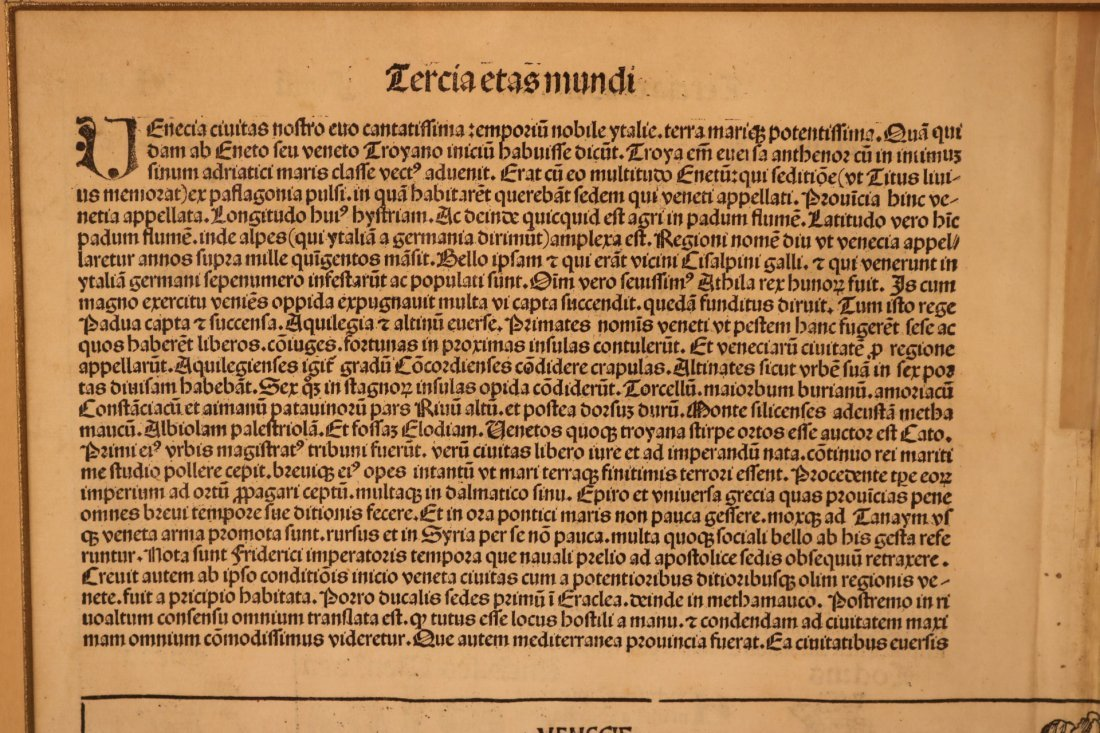 Latin Manuscript Page - 9