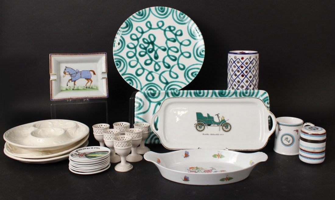Assorted Porcelain and Ceramic Articles