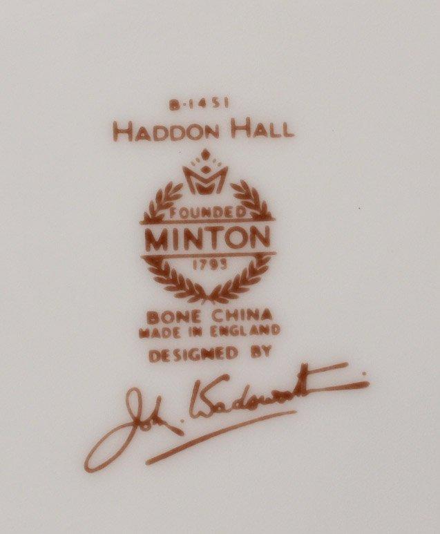 Minton Dinner Service, Haddon Hall - 4