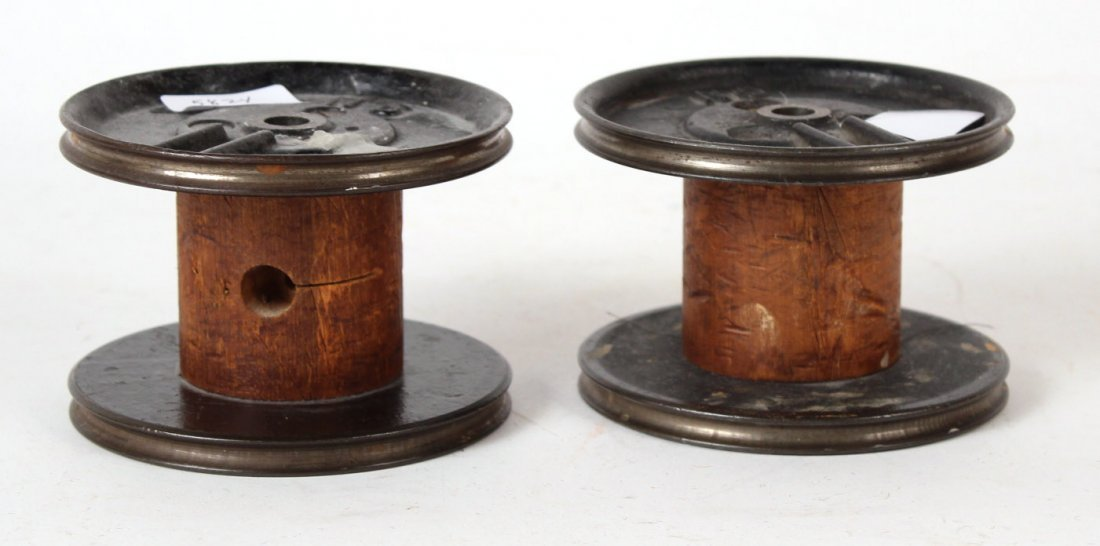 Seven Primitive Candle Holders - 6