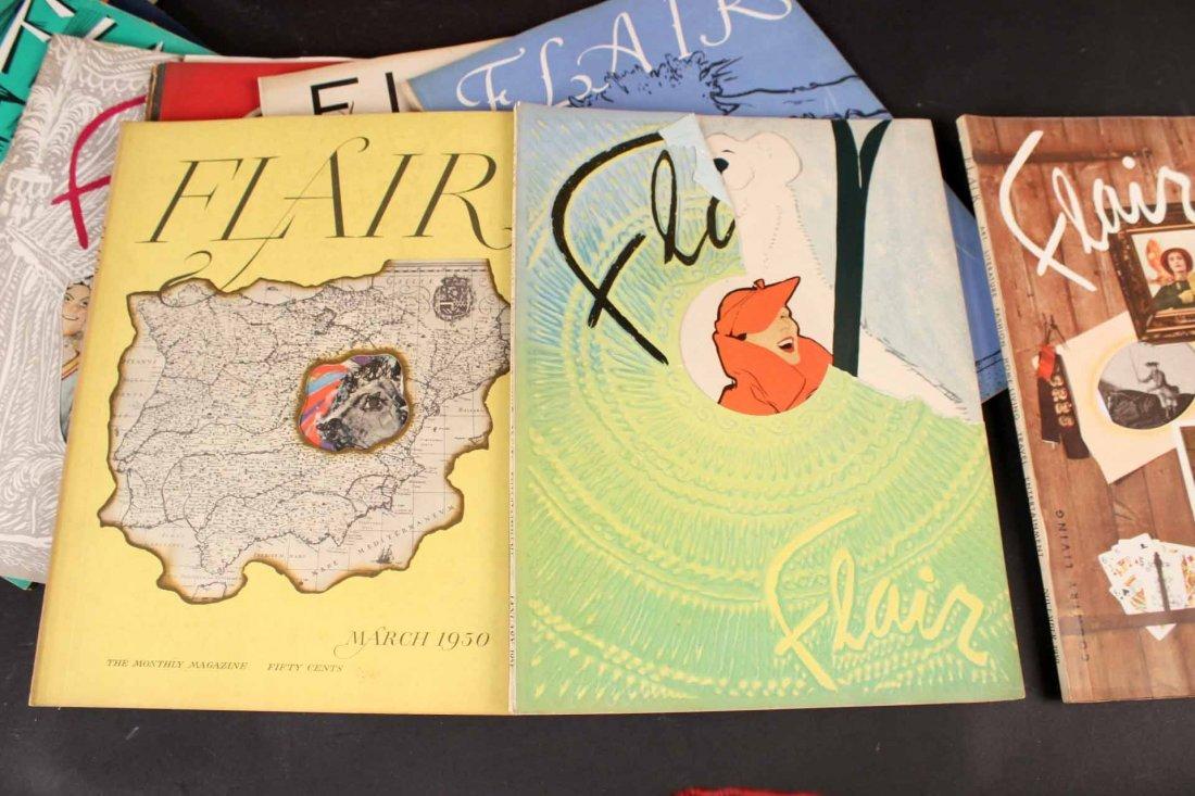 Eleven Copies of Flair Magazine - 2