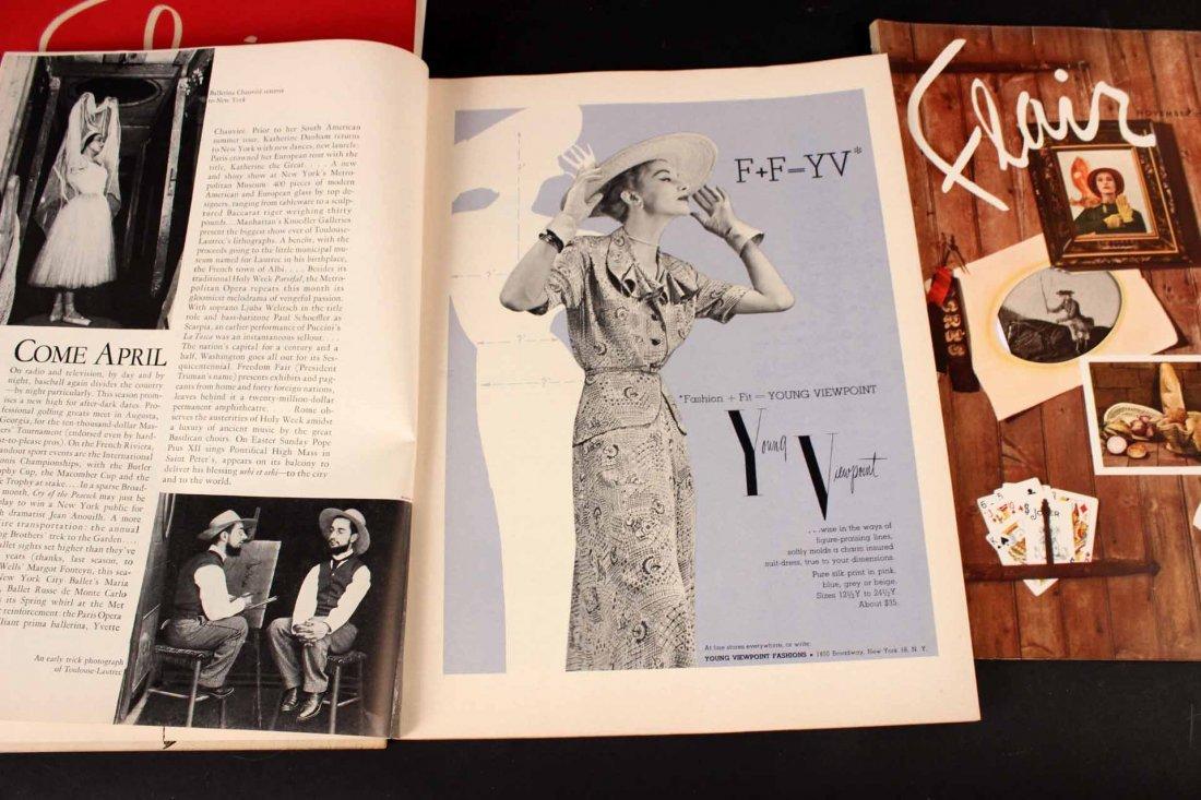 Eleven Copies of Flair Magazine - 4