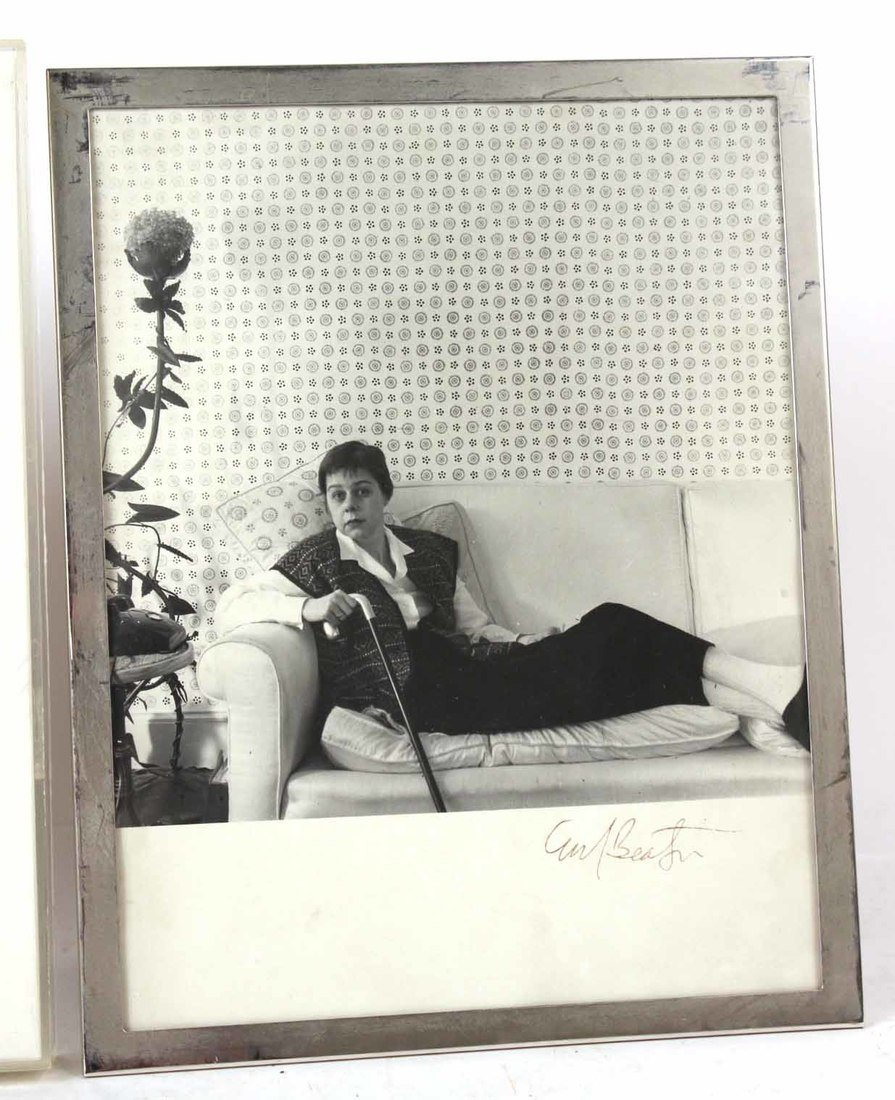 Autographed Photograph, Marlene Deitrich - 2
