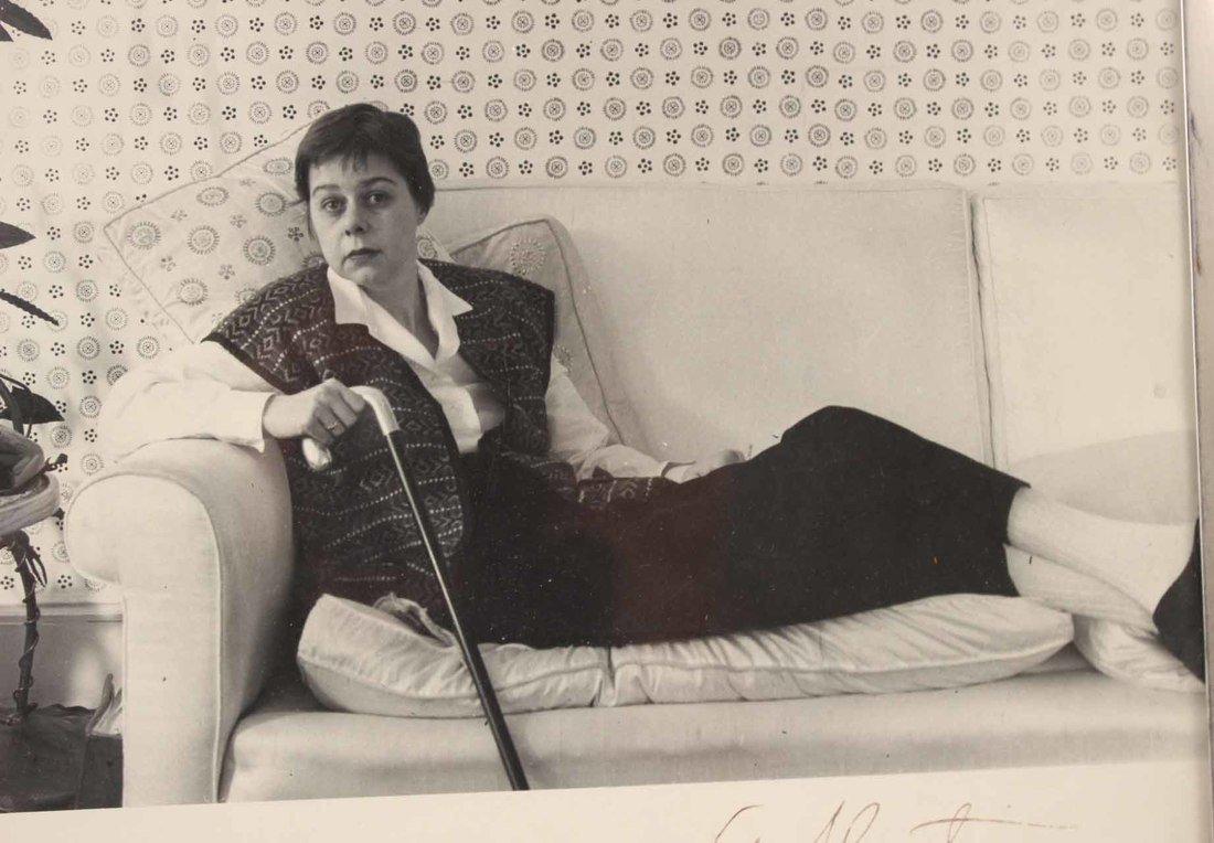 Autographed Photograph, Marlene Deitrich - 3