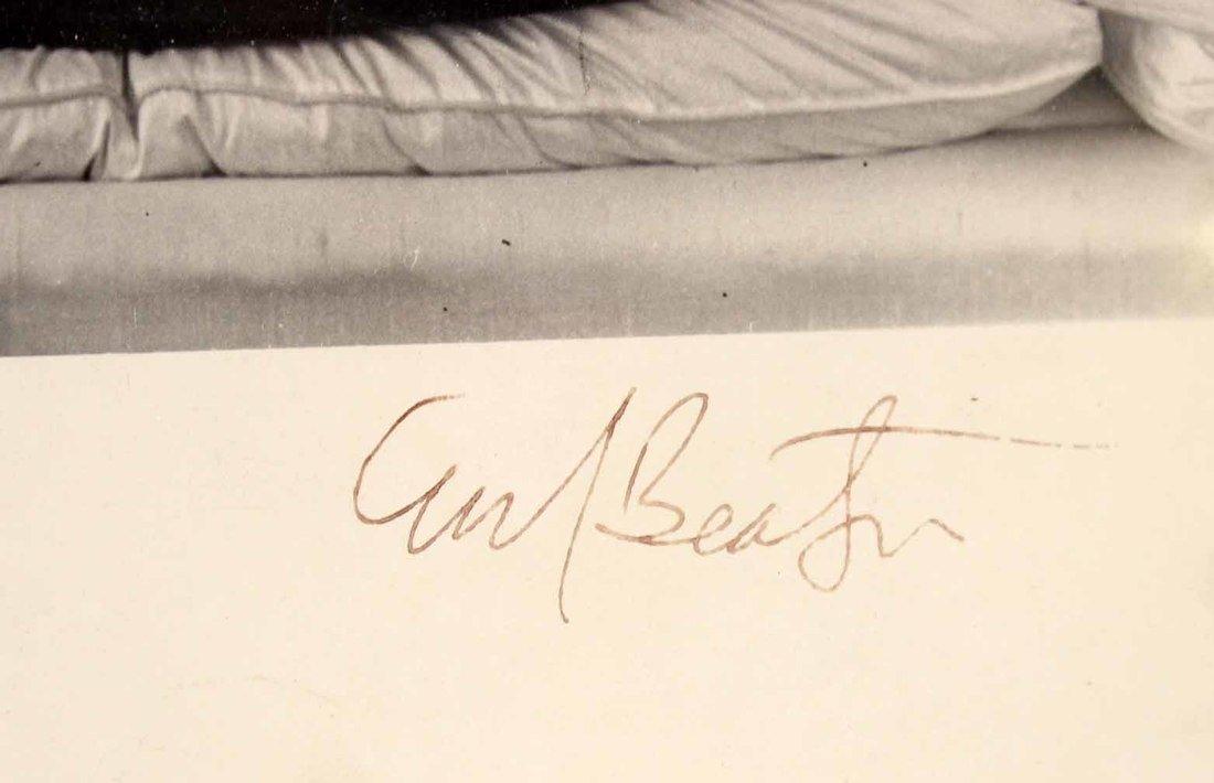 Autographed Photograph, Marlene Deitrich - 4