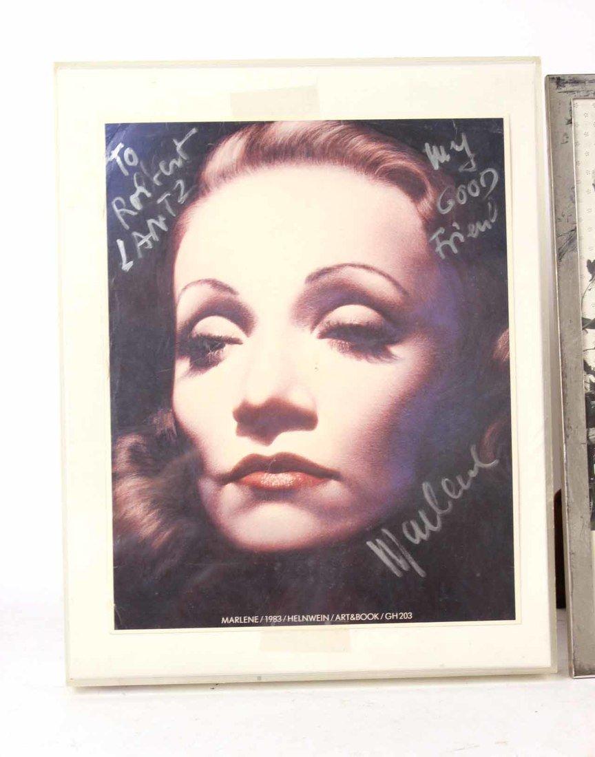 Autographed Photograph, Marlene Deitrich - 5