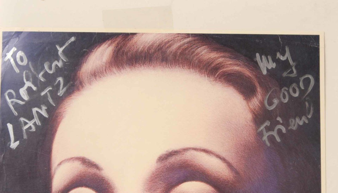 Autographed Photograph, Marlene Deitrich - 6