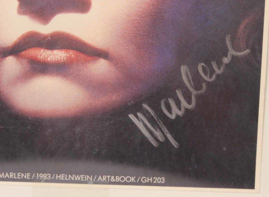 Autographed Photograph, Marlene Deitrich - 7