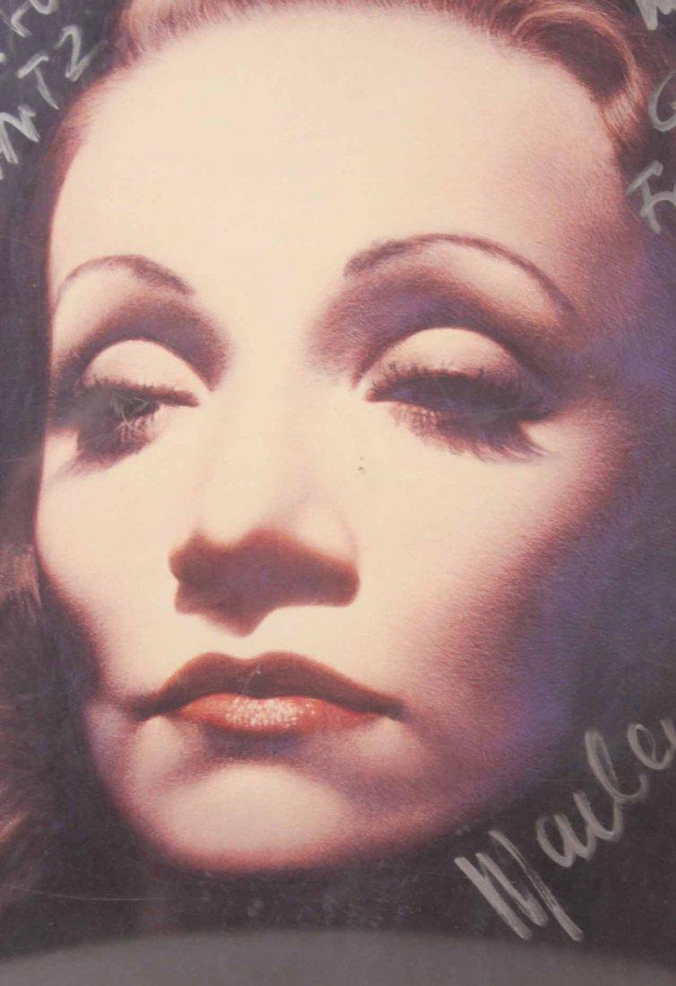 Autographed Photograph, Marlene Deitrich - 8