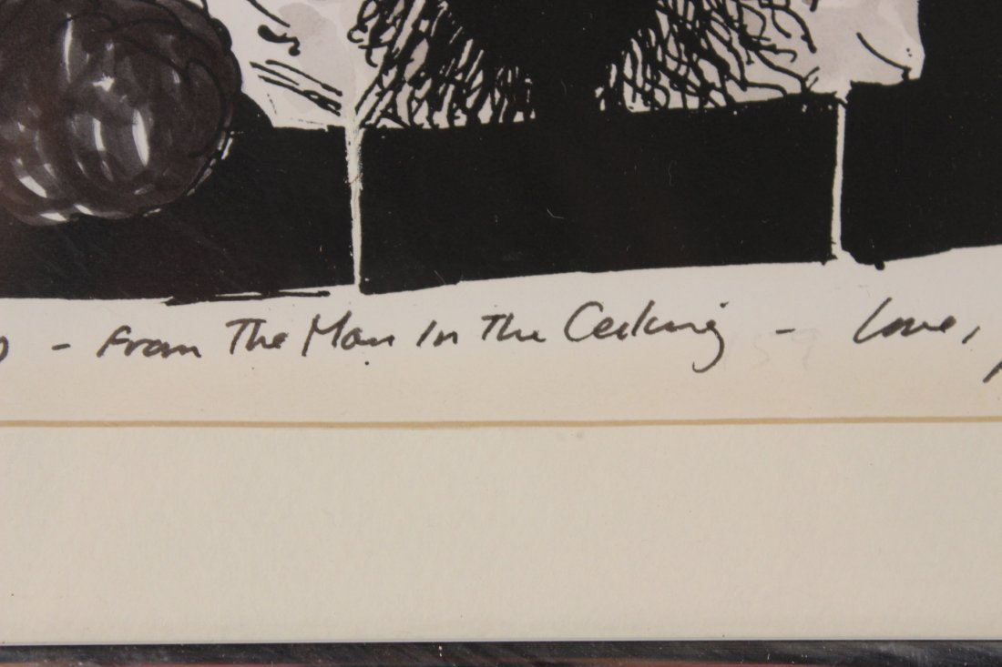 "Mixed Media""The Man in the Ceiling"" Jules Feiffer - 4"