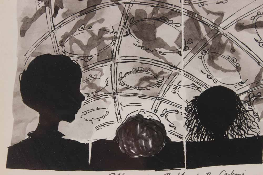 "Mixed Media""The Man in the Ceiling"" Jules Feiffer - 6"