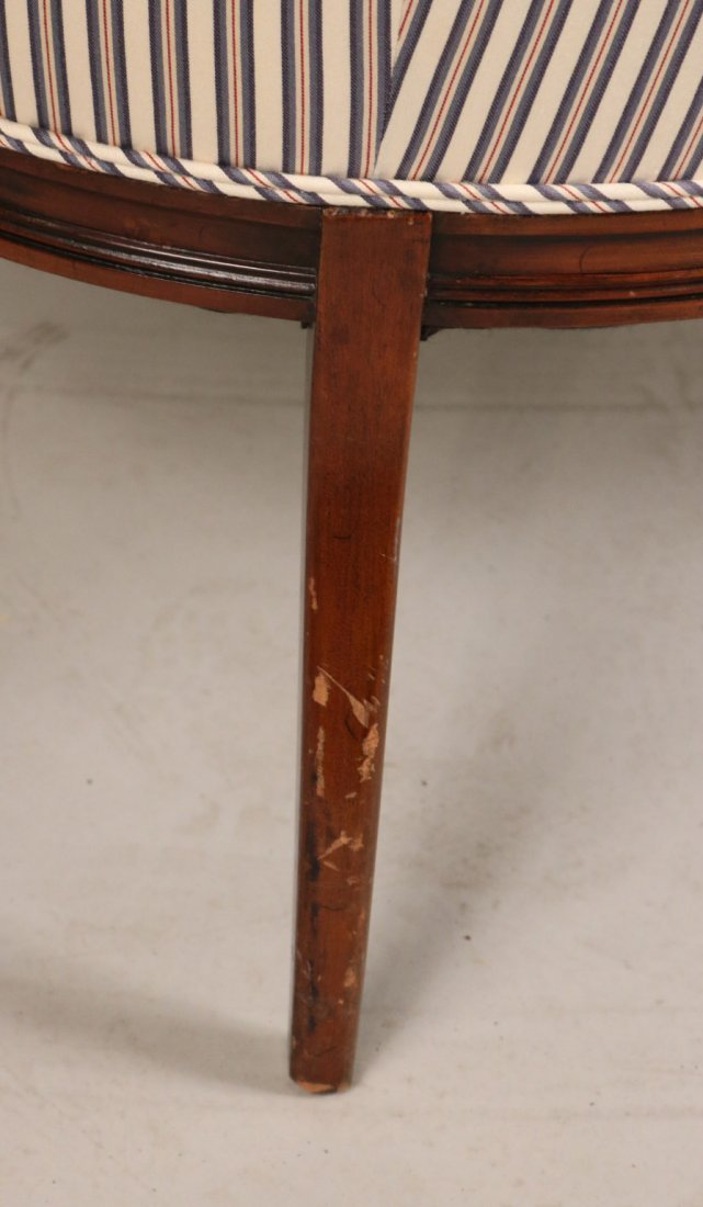 Federal Style Mahogany Settee - 6